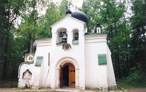 Церковь в Абрамцеве